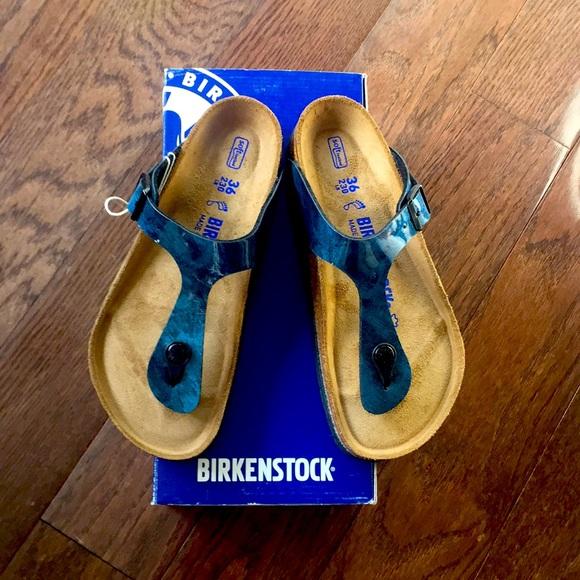 birkenstock iride strong blue